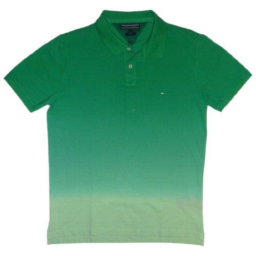 Tommy Hilfiger Herren Poloshirt Grüne Palmen