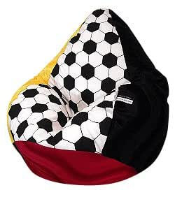 sitzsack xl fussball nr iv deutschland incl inlett. Black Bedroom Furniture Sets. Home Design Ideas