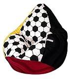Sitzsack XL Fussball Nr.IV 'Deutschland' incl. Inlett