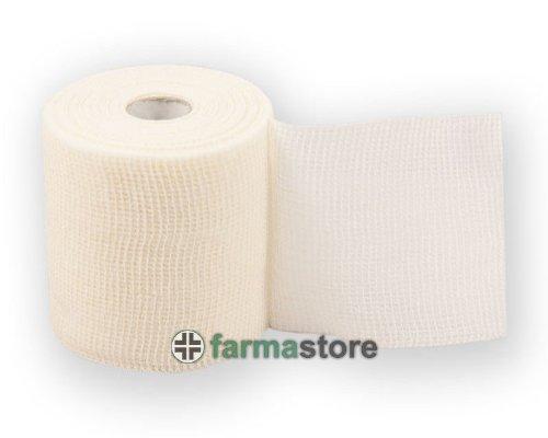 FARMAFIX benda coesiva elastica autoaderente estensibilità 50% cm 12x20 mt (cod. BE106)