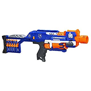 Hasbro Nerf, N-Strike elite stockade, toy blaster, 98695EU4 (B00EHFN8SA) | Amazon price tracker / tracking, Amazon price history charts, Amazon price watches, Amazon price drop alerts