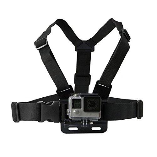 WSS–verstellbare Brust Körper Gurt Geschirr Halterung für GoPro HD Hero 1233+ 45Action Video Kamera Geburtstag Weihnachten Travel Outdoor Geschenk