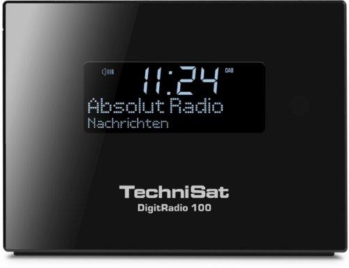 TechniSat DIGITRADIO 100 / Digital-Radio Adapter zur Erweiterung von HiFi-Anlagen und AV-Receivern, UKW/DAB+ Empfangsteil, Bluetooth, Anschluss für externe Antenne, Sleeptimer, Wecker,  schwarz