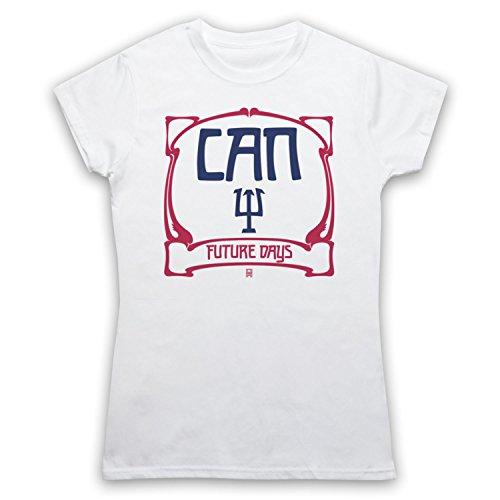 Inspiriert durch Can Future Days Inoffiziell Damen T-Shirt Weis