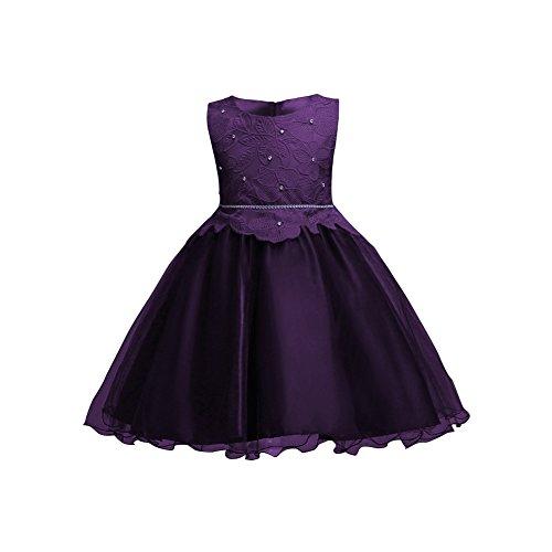 Hougood Mädchen Kleid Prinzessin Kleid Sommer Tüll Kleid Abendkleid Tanz Kostüme Hochzeit Geburtstagsparty Prom Formelle Anlässe Dress Up (Alte Mode-prom Kleider)