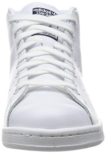 Adidas Stan Smith Mid, Scarpe a Collo Alto Uomo Multicolore (Ftwwht/Ftwwht/Conavy)