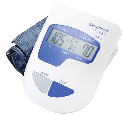 Geratherm desktop GP-6621 vollautomatisches Blutdruckmessgerät für den Oberarm mit Komfortmanschette