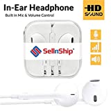 #3: Original Earphones with Mic for iPhone and All Mobile Phones from SellnShip