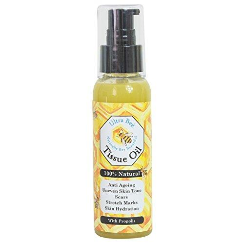 Hautgewebe Öl mit Honig Avokado Hagebutte Calendula Geranie und Neroli 100ml - 100% natürlich -