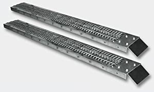 Pair of Loading Ramps 190x23cm 400kg 880lbs Drive-On Ramp
