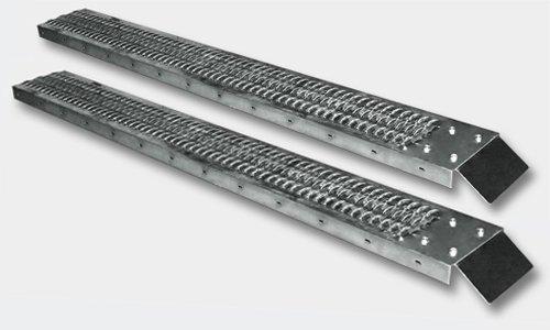 Paar Laderampen Auffahrrampen 190x23cm Traglast bis 400kg