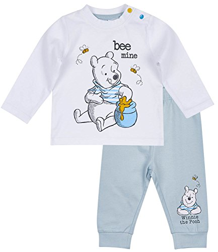 Disney Winnie The Pooh Babies T-Shirt and Pants - White