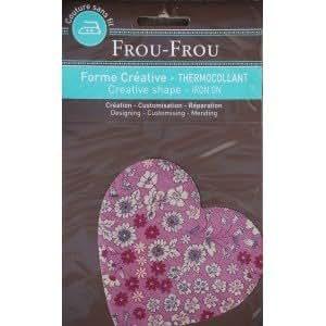 Coeur Thermocollant Fleuri - Frou Frou
