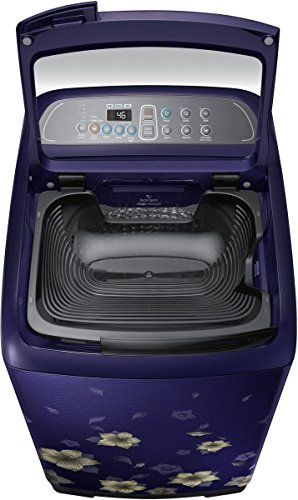 Samsung 6.5 kg Fully-Automatic Top Loading Washing Machine (WA65M4010HL/TL, Star Flower Blue)