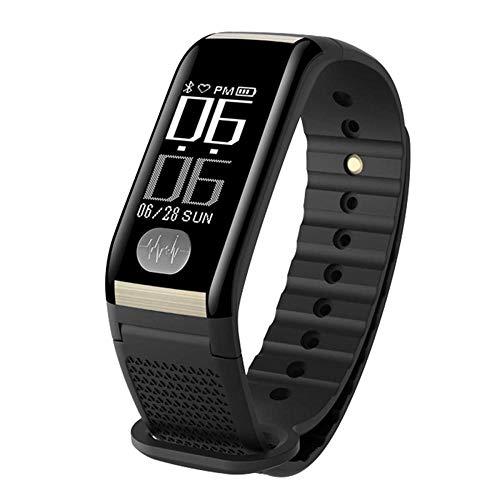 WTZFHF Mode Fitness Tracker Smart Watch EKG + PPG Sport Schrittzähler Aktivität Armband Sauerstoff Schlaf Monitor Armband Herzfrequenz Blutdruck