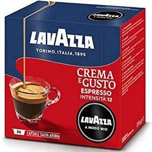 Lavazza 360 Capsule caffè Modo Mio Crema e Gusto