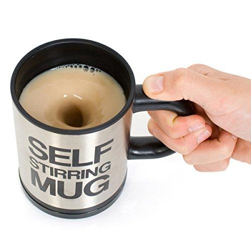 Tazza Mug Automescolante Gadget Elettrica Termica Automatica Bicchiere Caffè