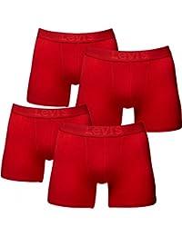 LEVI'S De 4 Pack Shorts Boxer Pour Hommes, Pantalon, Slip, Boxer, Shorts, Trunks Neuf
