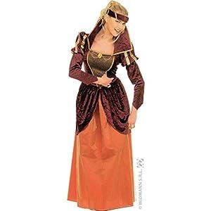 WIDMANN Widman - Disfraz de realeza Reina Medieval para Mujer, Talla L (35133)