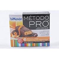 Bimanán Método Pro, Barritas con Sabor de Chocolate y Naranja, ...