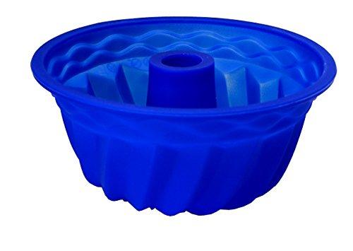 Staab's Gugelhupf Backform aus Silikon, Ø 22cm, Blau