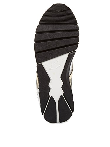 """Damen Sneakers """"Julia Mesh Studs"""" Silber"""