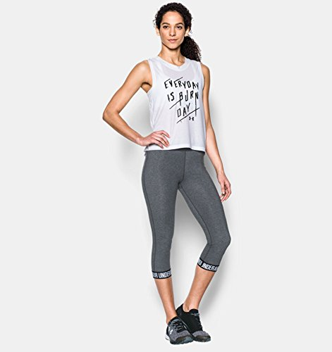 Under Armour Favorite  Capri Femme Gris Carbon Heather