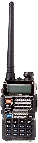 Baofeng UV-5R Plus 2M/70cm 136-174/400-480 Dualband Amateurfunk Handfunkgerät - Schwarz