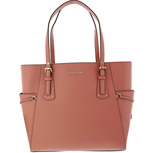Michael Kors Voyager Crossgrain Leather Totecer Leather Crossbody -