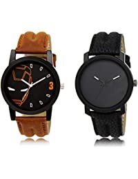 The Shopoholic Black Combo Treny And Precious Black Dial Analog Watch For Boys Watches Boys