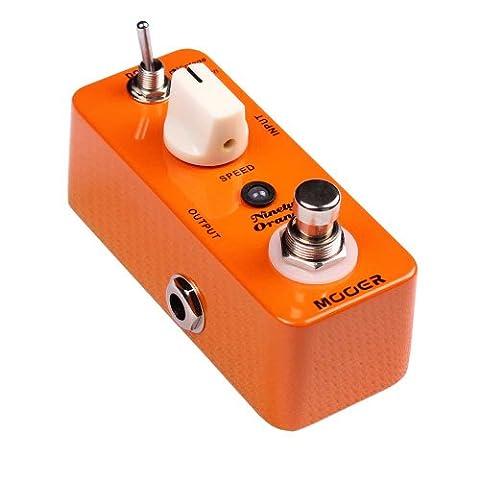 Mooer ninety-orange-phaser pédale d'effet pour guitare électrique