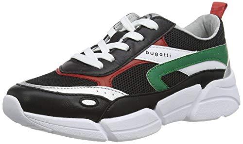 bugatti Damen 431668015959 Sneaker, Mehrfarbig (Black/Multicolour 1081), 42 EU