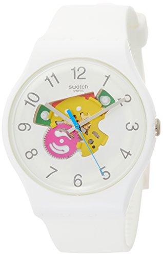 Swatch Reloj Analogico para Hombre de Cuarzo con Correa en Silicona SUOW148  ... baf727fd7464