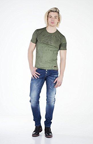 Herren T-Shirt Khaki