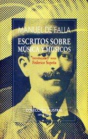 Escritos sobre música y músicos par Manuel de Falla