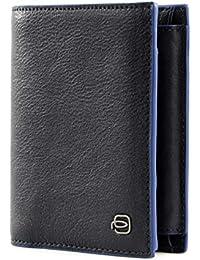 Piquadro Blue Square Special Monedero RFID piel 9,5 cm