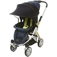 [Manito] Pare-soleil/auvent pour poussette de bébé, poussette, siège auto et, Large, bloque UV, Universel et facile à installer