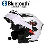 Casque Bluetooth pour Moto et Casques pour Moto Ouverts, Norme de sécurité...