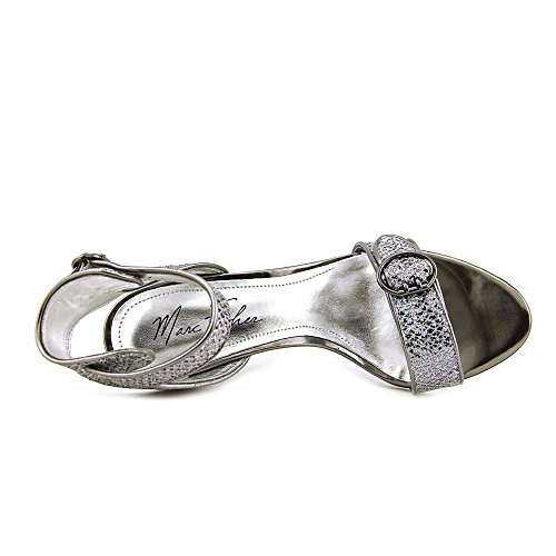 Marc Fisher Malika 5 Textile Sandale Silver Multi