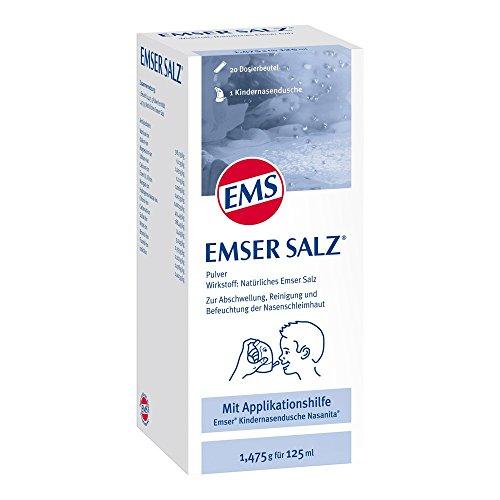 Emser Salz 20 Beutel + Nasanita Junior Kinder-Nasendusche, 1 St.
