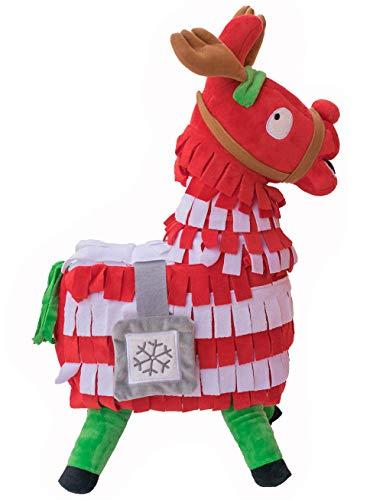Blest Guest Christmas Loot Llama Peluche Bambola farcita Figura, Troll Stash Animal Alpaca Regalo per Bambini Ragazzi Ragazze Bambini (L)