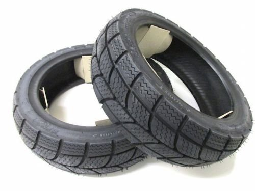 Price comparison product image Kenda Winter Tyre Set for Daelim,  Derbi,  Explorer 120 / 70 -12 + 130 / 70 -12) M + S