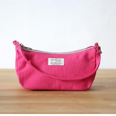 &ZHOU le borse delle donne tela pacchetti di stoffa per il tempo libero pacchetto conchiglie portafoglio portatile della tasca , black Pink