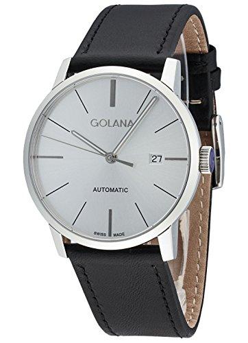 Golana Herren-Armbanduhr Classic Datum Analog Automatik AD500.2