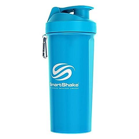 Smartshake Lite 1Litre/1000ml/33oz (Neon Blue)