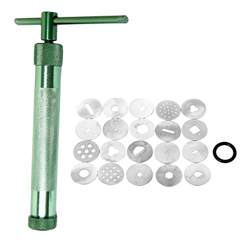 Tonpressen Clay Extruder Handwerk Maschine w 20 Extrusion / Scheiben Kuchen Zucker Kunsthandwerk Dekoration Werkzeug