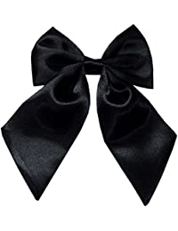 Navaksha Women's Black Bow Tie