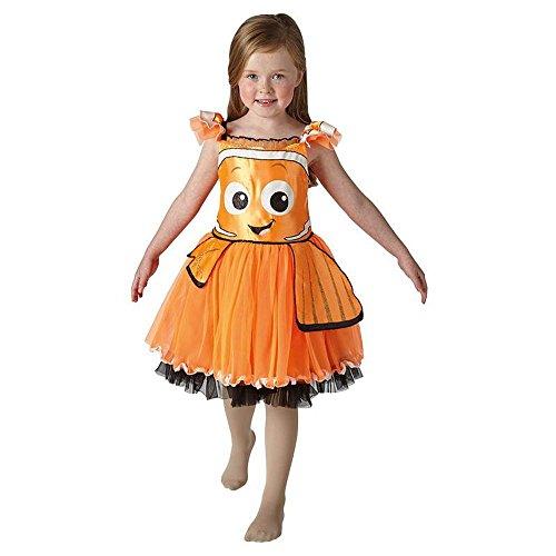 Halloween Und Kostüme Nemo Dory (Disney Kinder Kostüm Findet Dory Nemo Karneval Gr.3 bis 4)