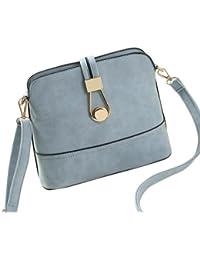 F9Q Femmes Vintage Frosted PU cuir petit sac à main Messenger Bag
