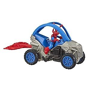 Spiderman Figura Spidercerdo Vehículo 15Cm (Hasbro E77385X0)